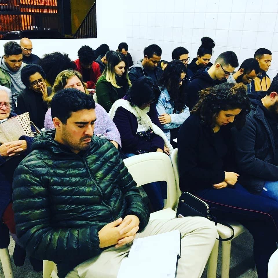Nossa história | UMP em culto evangelístico na Cong. Campanário | foto: arquivo histórico IPD (2019)