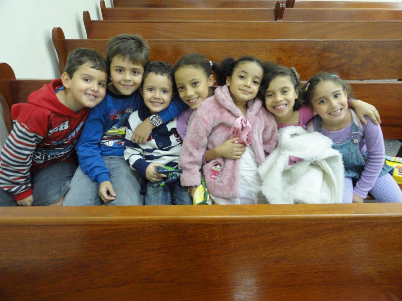 UCP - União de Crianças Presbiterianas | Foto: arquivo IPD (2011)