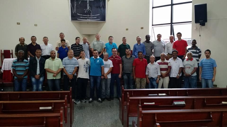 União Presbiteriana de Homens | Congresso de Federação realizado na IPD | Foto: arquivo IPD (2018)