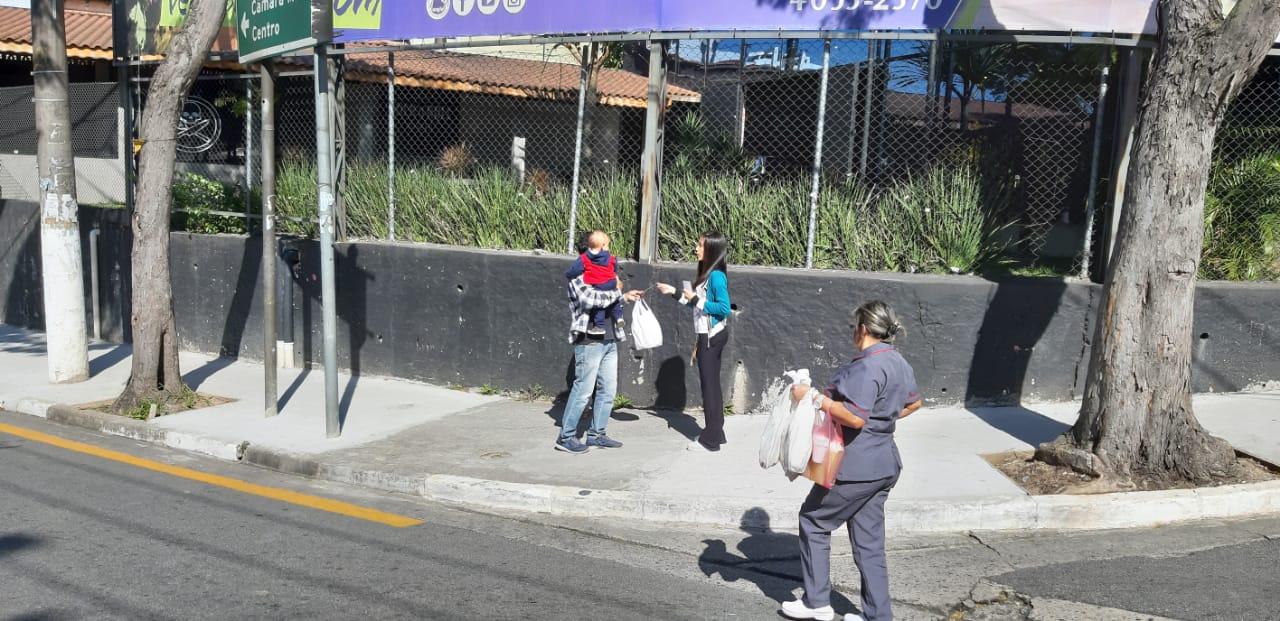 Evangelismo nas ruas da cidade | Foto: arquivo IPD