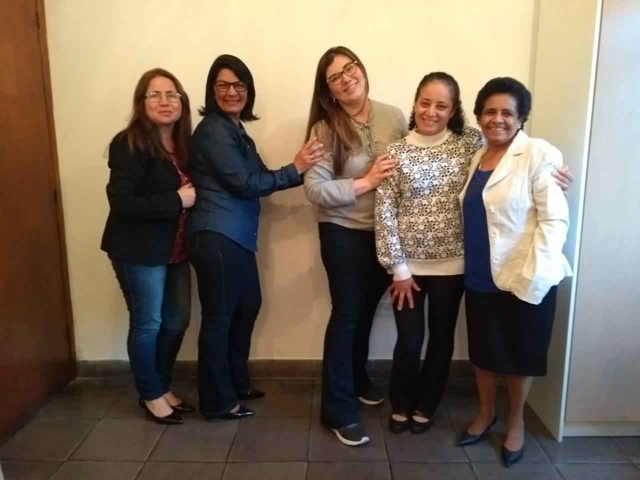 SAF - Sociedade Auxiliadora Feminina | Diretoria 2019| Foto: arquivo IPD (2019)