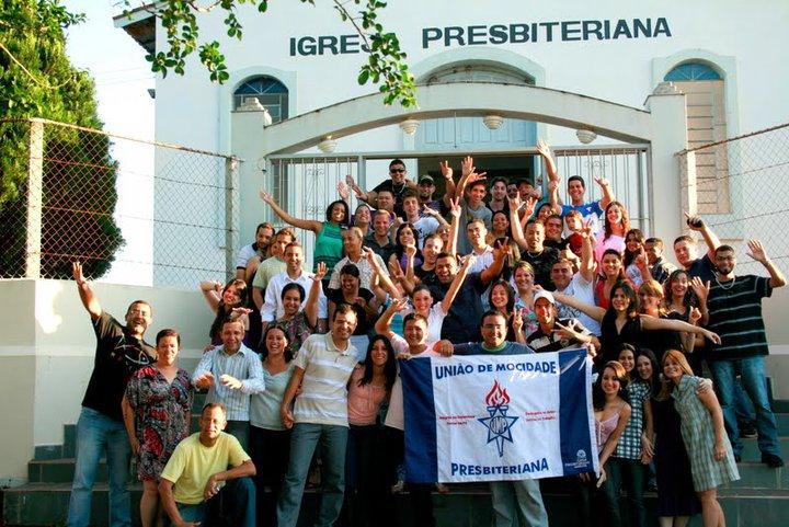UMP - União de Mocidade Presbiteriana | Federação de UMPs | Acampamento de jovens com intercâmbio e impacto evangelístico em São Pedro| Foto: arquivo histórico IPD (2009)