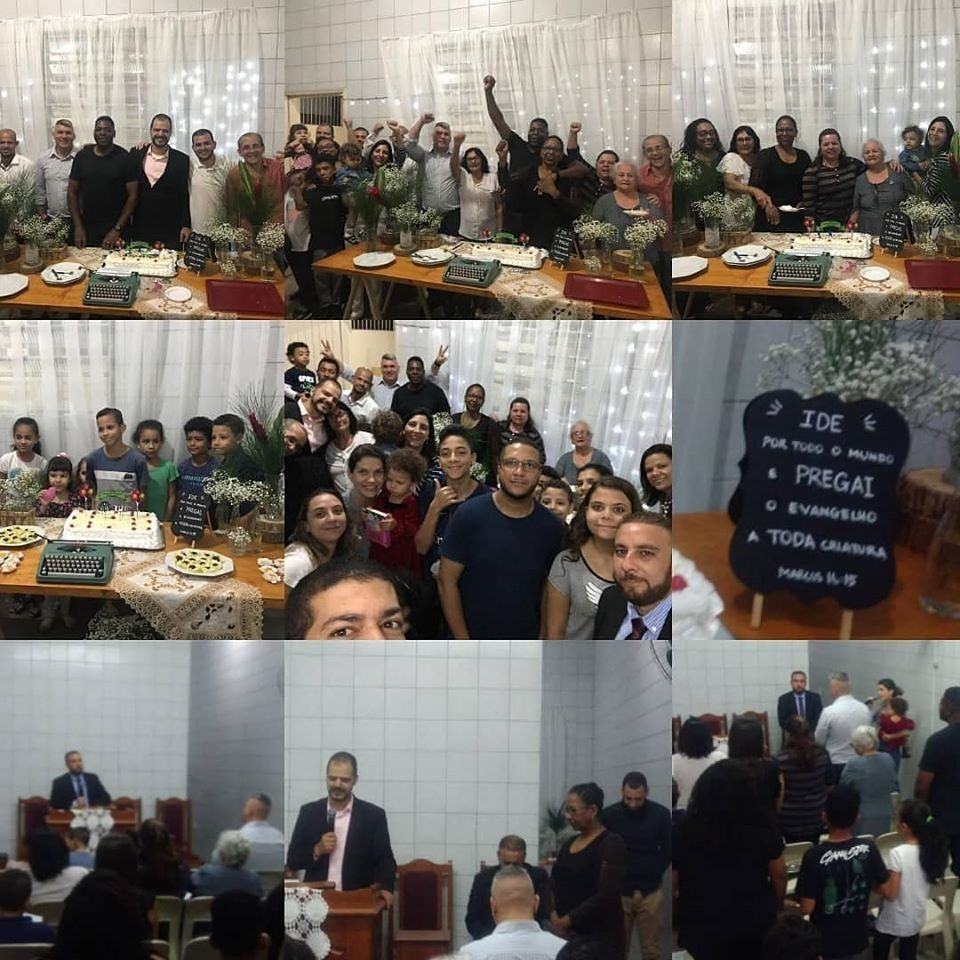 Aniversário 5 anos Congregação Campanário | Foto: arquivo IPD (2019)