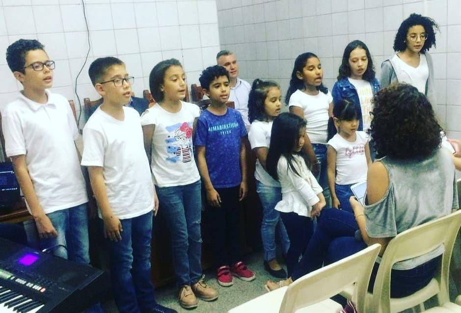 Cantata de Páscoa - Coral infantil | Foto: arquivo IPD (2019)