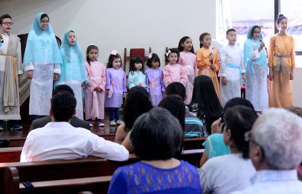 Coral Louvor para Cristo | Foto: arquivo IPD (2018)