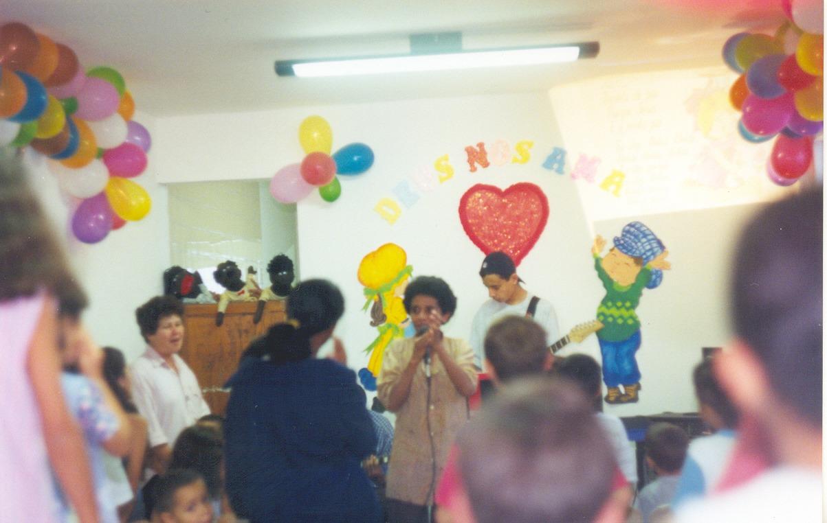 Nossa história | Escola Bíblica de Férias - Cong. Serraria | Foto: arquivo histórico IPD
