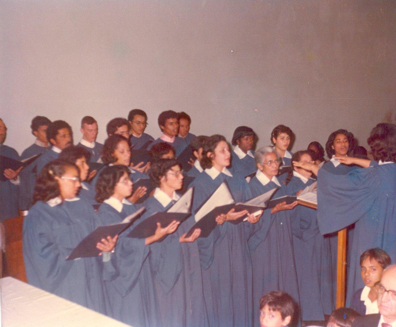 Coral Betel | Foto: arquivo histórico IPD