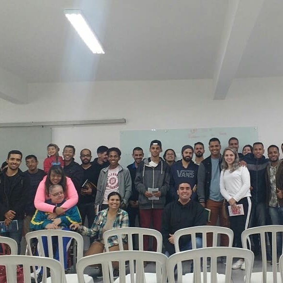 EBD - Escola Bíblica Dominical | Sala de jovens | Foto: arquivo IPD (2018)