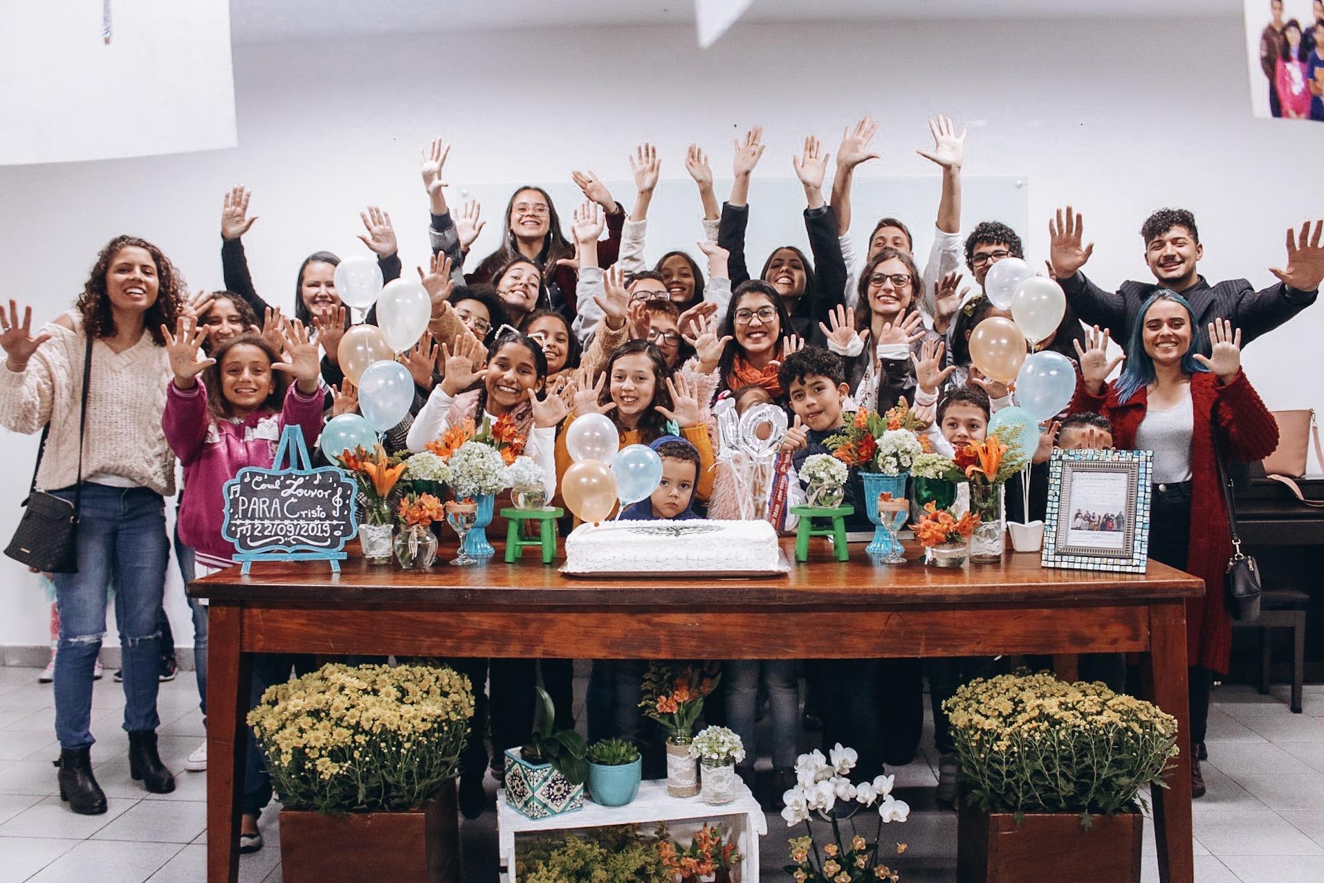 Coral Louvor para Cristo | Celebração de 10 anos de formação Coral Louvor para Cristo | Foto: arquivo IPD (2019)