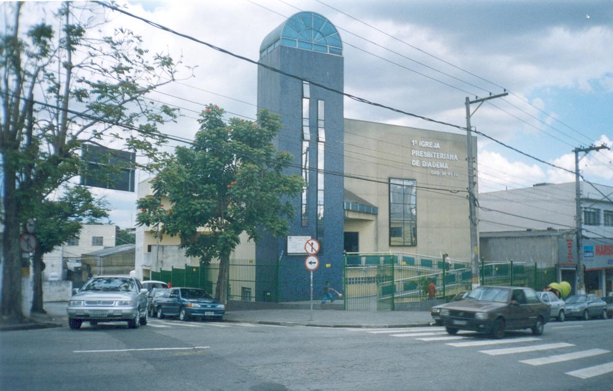 Nossa história | Fachada da Igreja | Foto: arquivo histórico IPD (anos 2010)