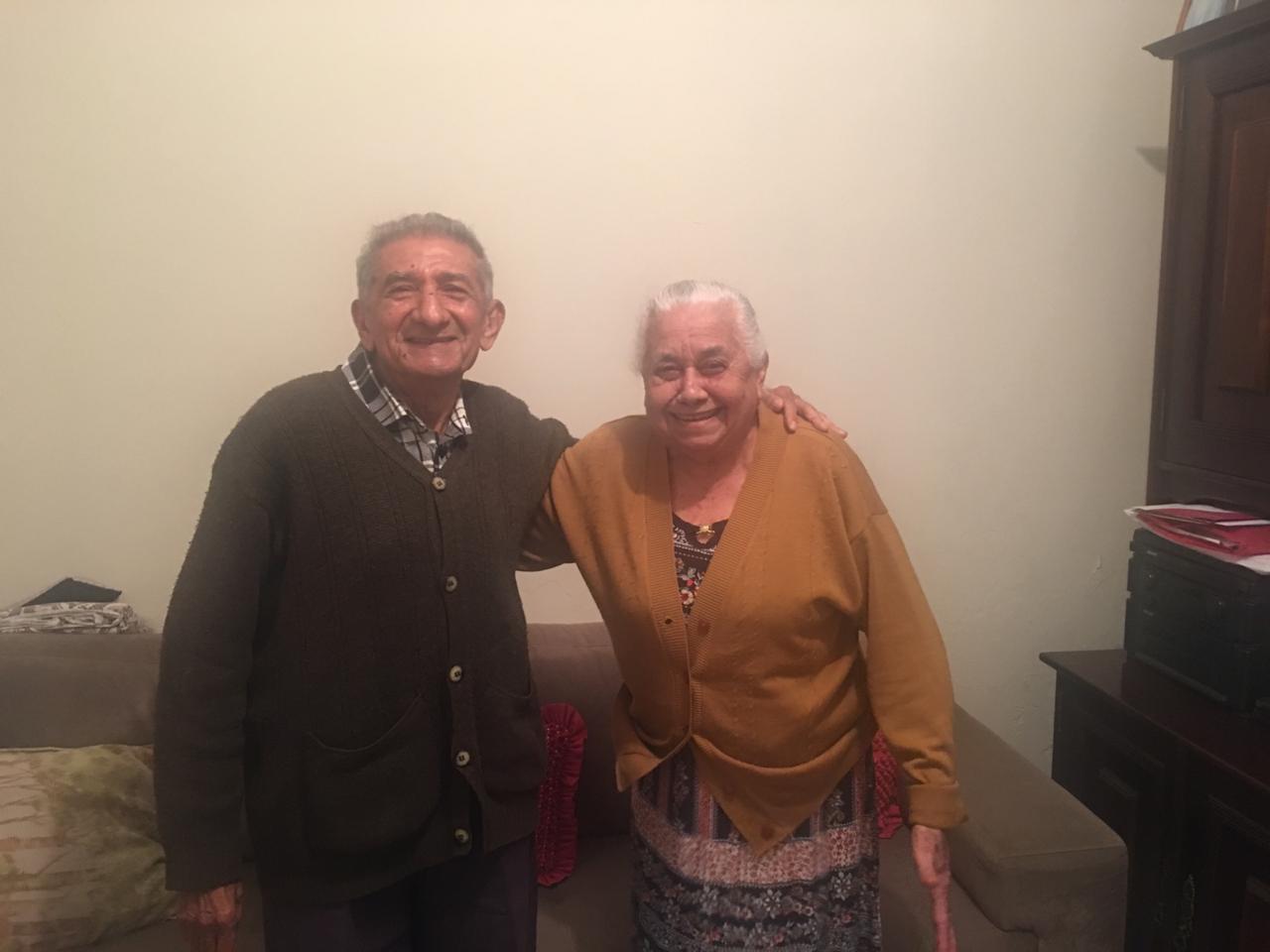 Nossa história | Rev. Alcides Oliveira de Sousa, um dos fundadores da IPD e sua esposa Francisca Feitosa de Sousa | Foto: arquivo da família (2019)