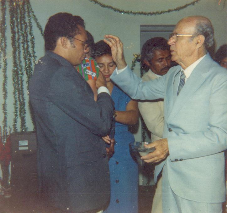Nossa história | Rev. Ludgero Machado Moraes (pastor da IPD entre 1985 a 1990) | Foto: arquivo histórico IPD