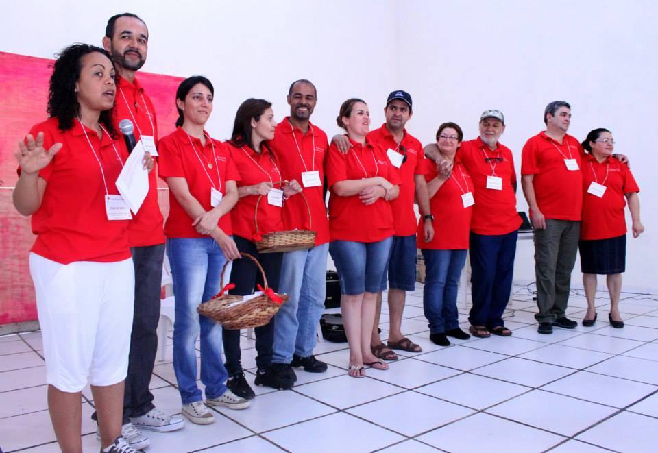 Nossa história | Primeira equipe Ministério de Casais - Day Camp de Casais (IPD e Cong. Serraria) | Foto: arquivo histórico IPD (2013)
