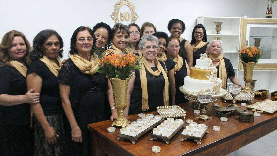 SAF - Sociedade Auxiliadora Feminina | Aniversário da sociedade | Foto: arquivo IPD (2018)